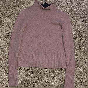 COPY - pink turtle neck long sleeve